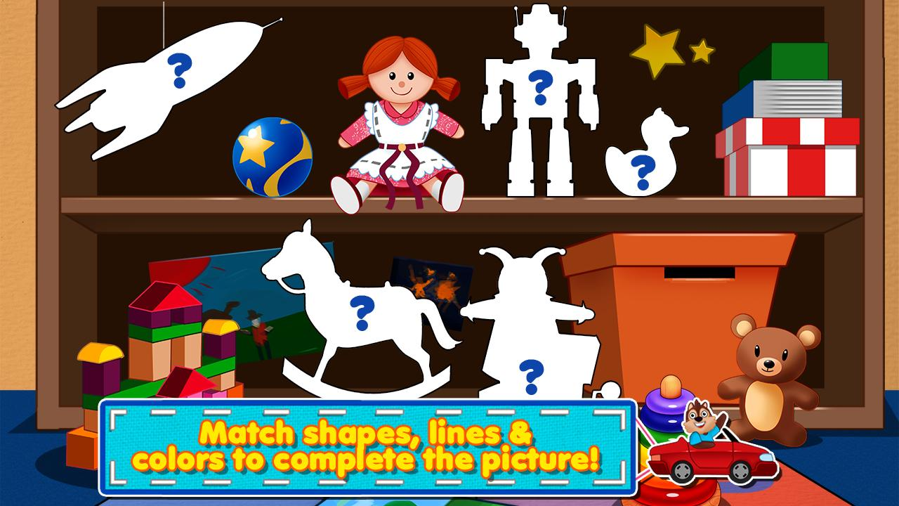 Awesome Shape Puzzles 123 HD - screenshot