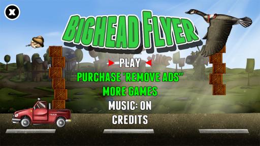 Bighead Flyer - Superhero