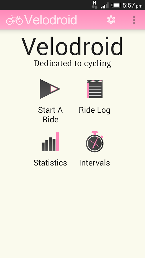 Velodroid Free - screenshot