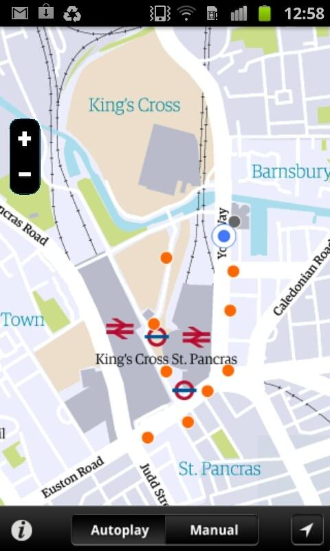 King's Cross Streetstories - screenshot