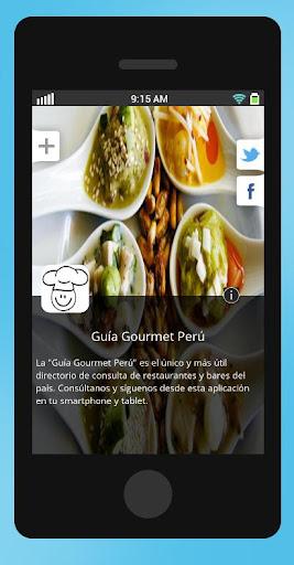 Guía Gourmet Perú
