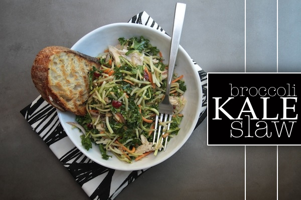Broccoli Kale Slaw