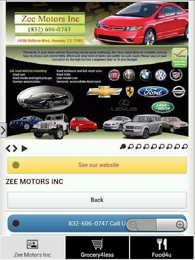Zee Motors Inc