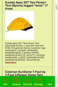 Tents screenshot 0