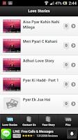 Screenshot of Hindi Love Stories