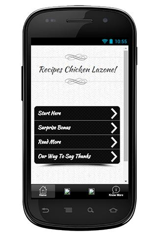Recipes Chicken Lazone