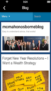 McMahon Osborne Group- screenshot thumbnail