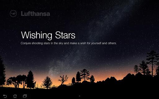 Lufthansa Wishing Stars