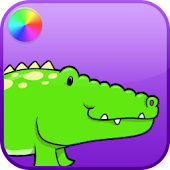 Kids Reptiles Coloring Game