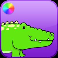 Kids Reptiles Coloring Game 5
