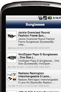 Sunglasses screenshot 1