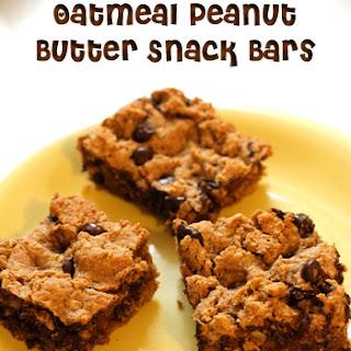 Oatmeal Peanut Butter Snack Bar.