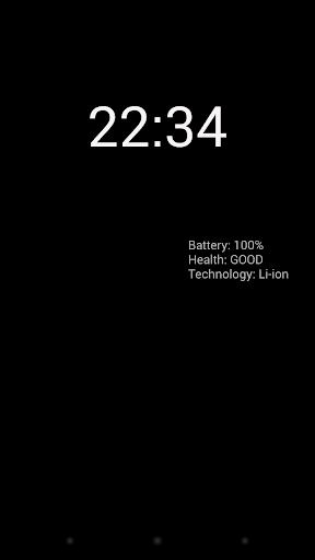 【免費工具App】電池・時計スクリーンセーバー-APP點子