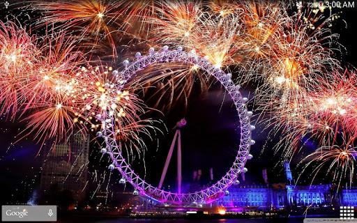 New Year Fireworks LWP (PRO) 1.3.1 screenshots 19