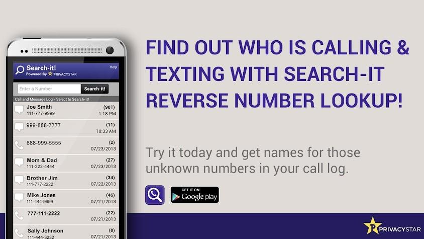 Reverse Phone Number Lookup Screenshot