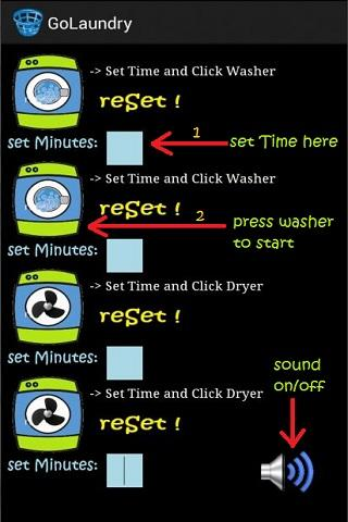 Go Laundry! - Ur Laundry Timer- screenshot