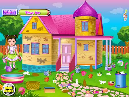孩子們的房子乾淨女生遊戲 休閒 App-愛順發玩APP