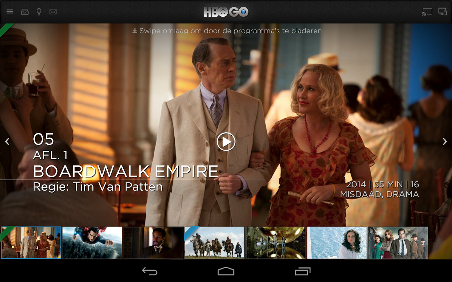HBO GO Nederland- screenshot