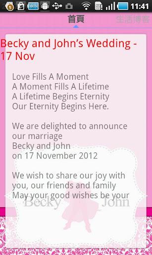 Becky and John's Wedding - 17