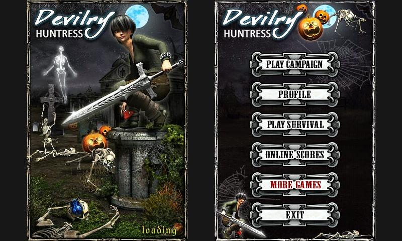Devilry Huntress - screenshot