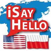 iSayHello English USA - Polish