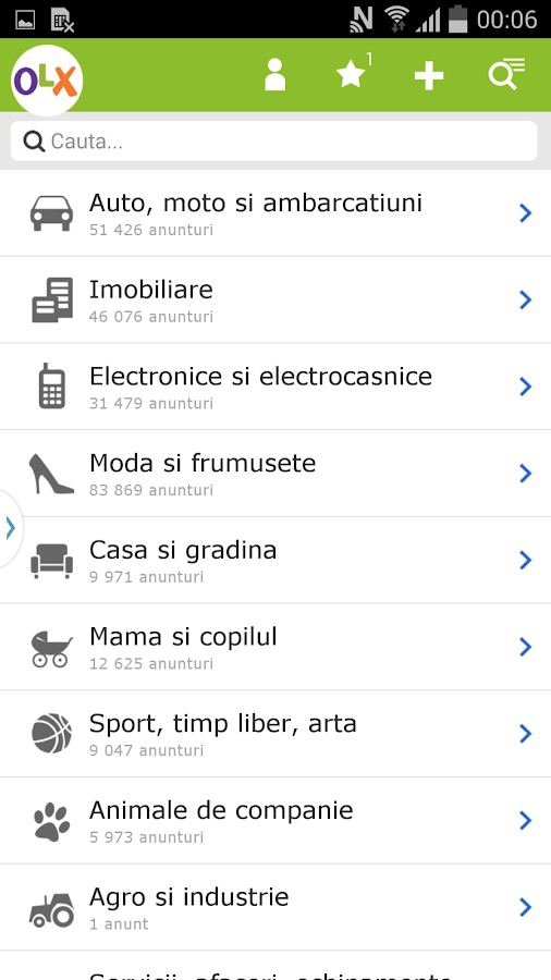 OLX.ro - screenshot