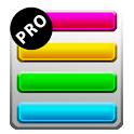 Rainbow Shopping List Pro icon