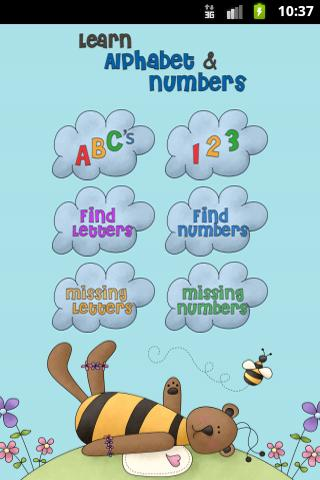 Learn Alphabet and Numbers- screenshot