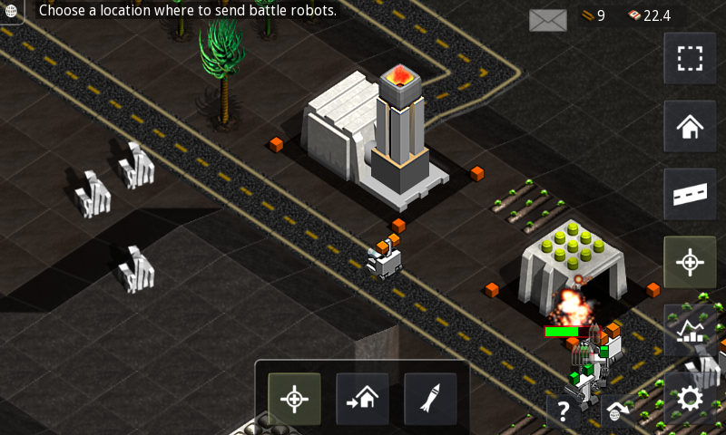 Robotic Planet RTS Lite - screenshot