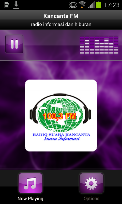 Kancanta FM- screenshot