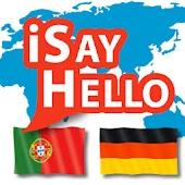 iSayHello Portuguese  - German