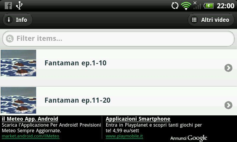Fantaman- screenshot