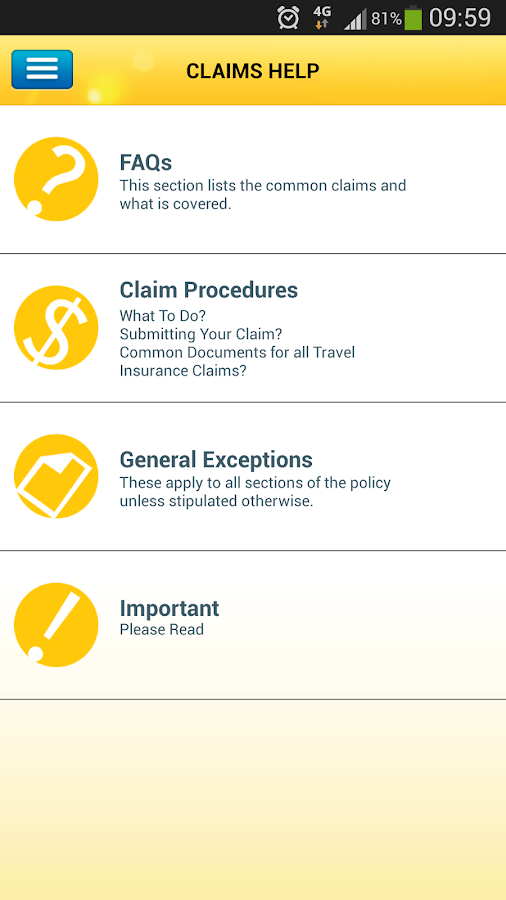 Aviva Travel - screenshot