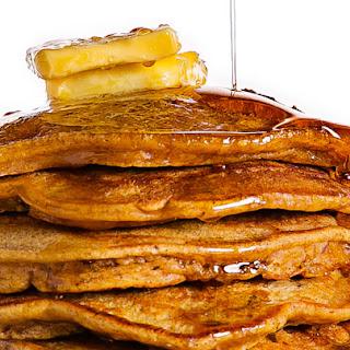 Pumpkin and Pecan Pancakes