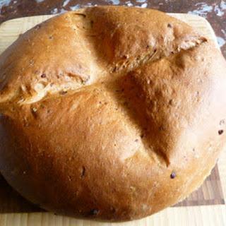 Onion and Swiss Rye Bread.