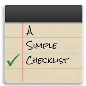 A Simple Checklist Pro