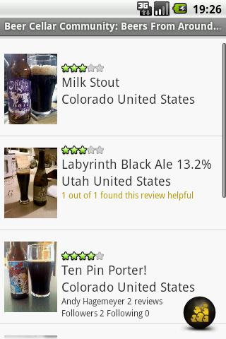 Beer Cellar Lite - screenshot