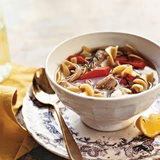 Simplest Turkey Soup.