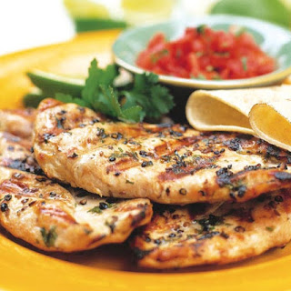 Herbed Grilled Chicken Breasts.