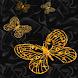 Yellow Web Butterflies LWP