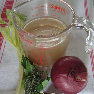 Easy Home Made Vegetable Stock.