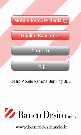 Desio Remote BDL
