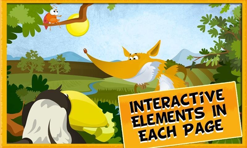 Fox & Crow Storybook for Kids - screenshot