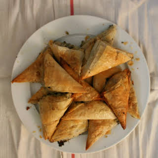 Fennel and Herb Phyllo Pastries (Hortopita).
