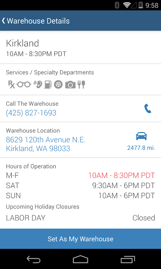 Costco Wholesale - US- screenshot
