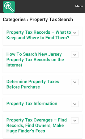 Property Search Tips 1.0 screenshot 10077