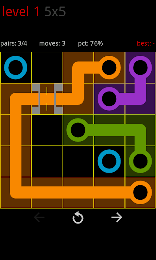 Circle Pie Cross - Flow Game