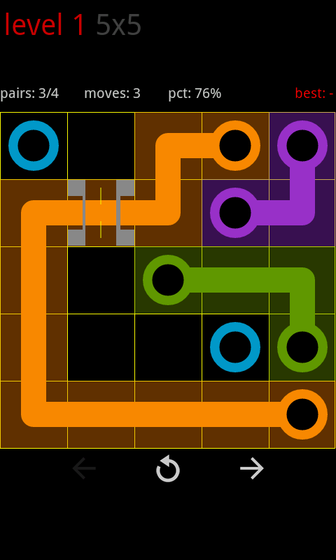 Circle Pie Cross - Flow Game - screenshot