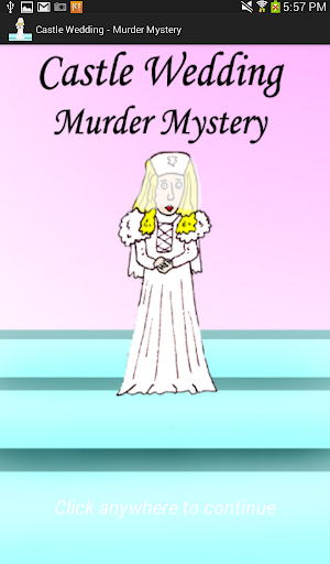 Castle Wedding-Murder Mystery