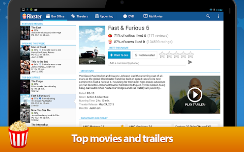 Movies by Flixster Screenshot 17